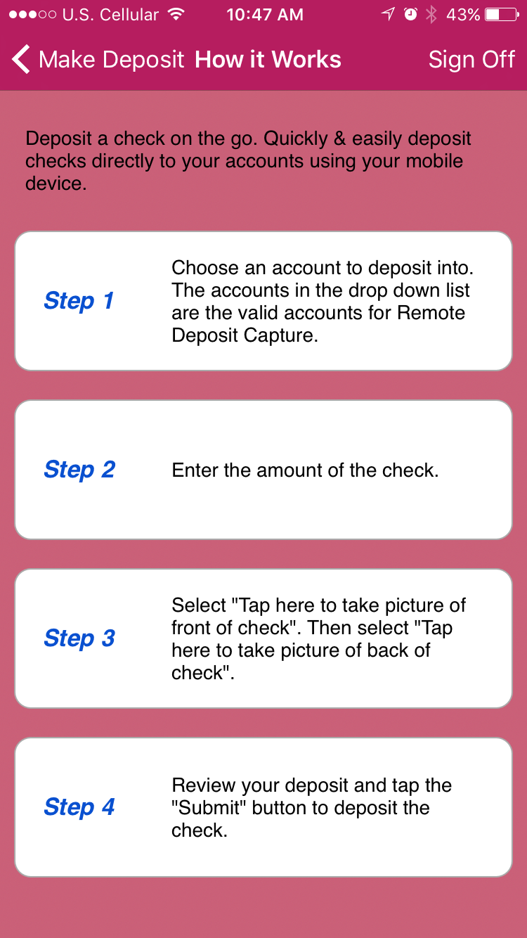 New mobile deposit capture monmouth fcu mobile deposit capture 1betcityfo Choice Image
